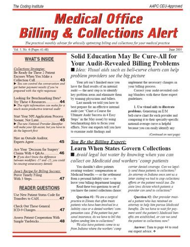Best Price for Medical Office Billing & Collections Alert Subscription