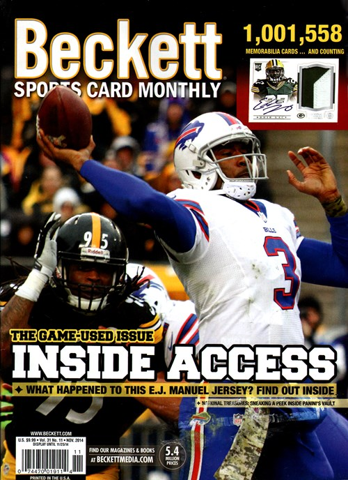 Best Price for Beckett Sports Card Monthly Magazine Subscription
